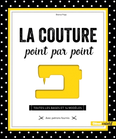 LA COUTURE POINT PAR POINT Popp Blanca Glénat